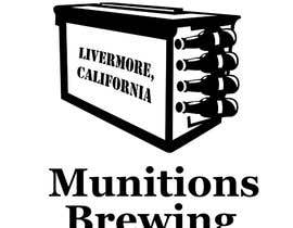 #30 для Munitions Brewing Logo Contest от Bugbeeb