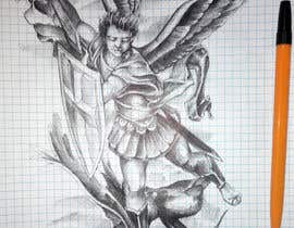 soput tarafından Michael the Arch Angel Tattoo için no 10