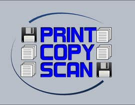 nº 119 pour Design a Logo for Print Copy Scan par ravisankarselvam