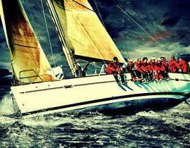#62 untuk Retouch a sailing image to add more drama oleh SohamJoy