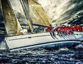 #125 untuk Retouch a sailing image to add more drama oleh leancolan