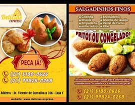 #10 untuk Flyer for Food (Brazilian Snacks) Delivery oleh rayhandnj