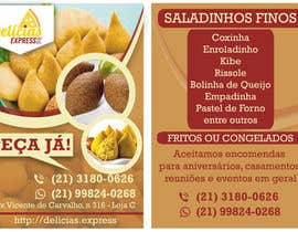 #7 untuk Flyer for Food (Brazilian Snacks) Delivery oleh drcash