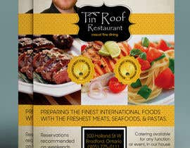 #8 untuk Design an Advertisement Fine Dining Restaurant oleh gkhaus