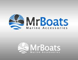 #100 pentru Logo Design for mr boats marine accessories de către bjandres