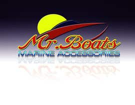 #68 cho Logo Design for mr boats marine accessories bởi PlatinumStudios