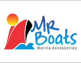 #102 for Logo Design for mr boats marine accessories af GUSRYAN