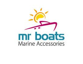 #136 para Logo Design for mr boats marine accessories de smarttaste