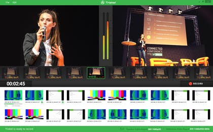 Nadasol tarafından Design an App Mockup for a Video Capture Desktop Application için no 3