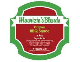 amywang91 tarafından Design one label for sauce bottles için no 10