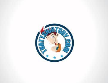 iffikhan tarafından Design and revamp Thattshirtguy logo için no 12
