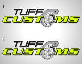 #37 para Logo Design for Tuff Customs por raffyph1