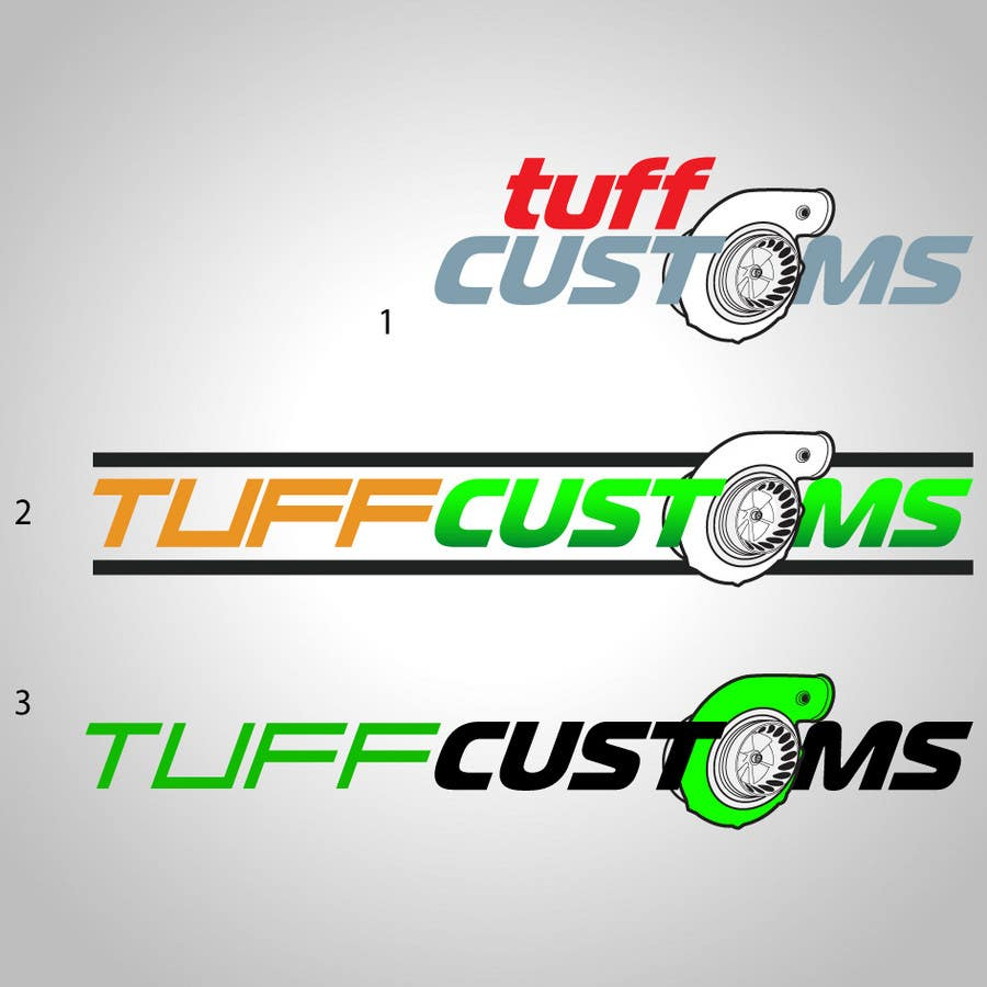 Contest Entry #                                        27                                      for                                         Logo Design for Tuff Customs