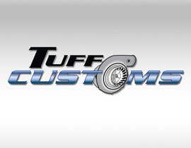 #7 para Logo Design for Tuff Customs por raffyph1