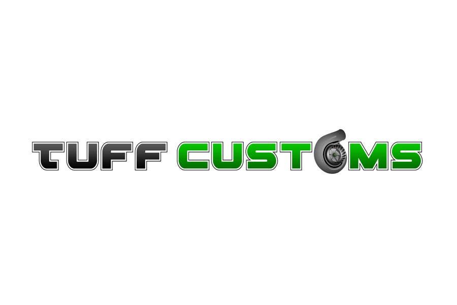 Contest Entry #                                        66                                      for                                         Logo Design for Tuff Customs
