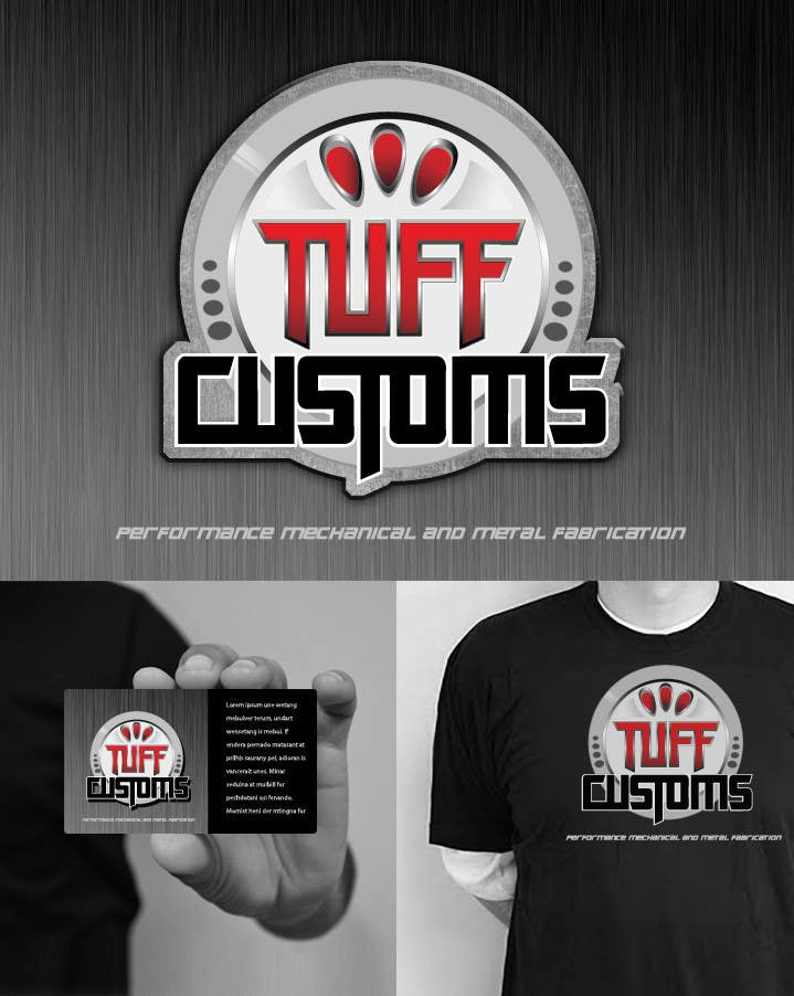 Contest Entry #                                        75                                      for                                         Logo Design for Tuff Customs