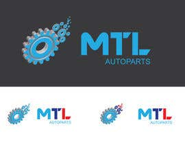 #9 for Design a Logo for MTL-AutoParts.com by AbdullahArnab