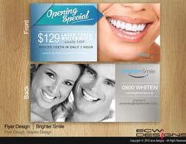 elizewatkins tarafından Design a Flyer for a teeth whitening clinic! için no 95