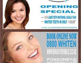 shahid48 tarafından Design a Flyer for a teeth whitening clinic! için no 91