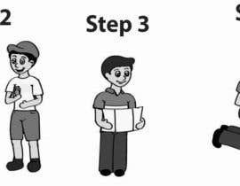 #5 untuk Alter some Images - Cartoon Illustrations for our customers step by step guide oleh giselarodrigues