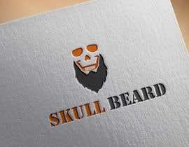 #43 untuk Skull Beard logo oleh KnowledgeShine