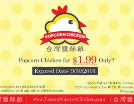 #5 untuk Design a coupon oleh ivankong924