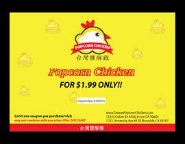 #7 untuk Design a coupon oleh amcgabeykoon