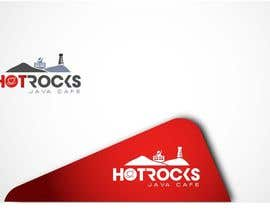 FlexKreative tarafından Design a Logo for Hot Rocks Java Cafe için no 71