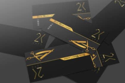 #5 untuk Design some Business Cards for a Barber oleh akazuk