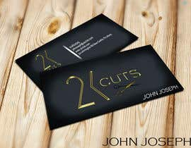 #19 untuk Design some Business Cards for a Barber oleh Creativeapes1