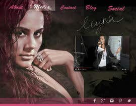 #46 untuk Design a website for an actress/singer/model oleh harshita008