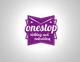 #8 para Design a Logo for Onestop Clothing & Embroidery por cha5e