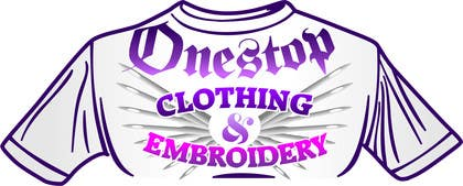 #13 for Design a Logo for Onestop Clothing & Embroidery by jrviljoen