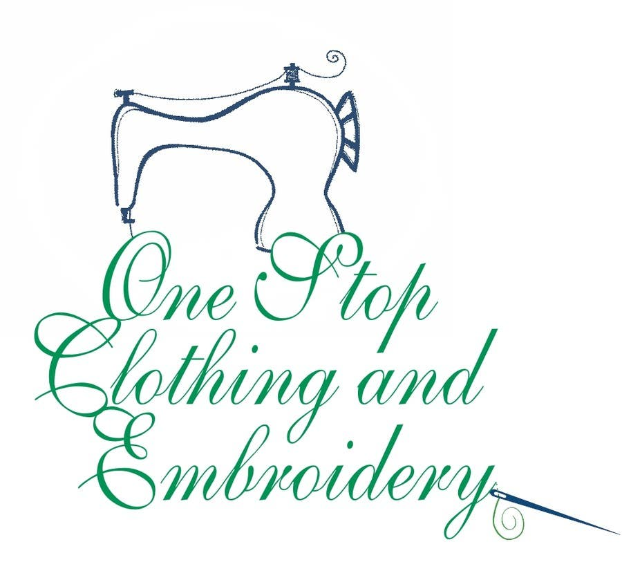 #2 for Design a Logo for Onestop Clothing & Embroidery by rkravi111281