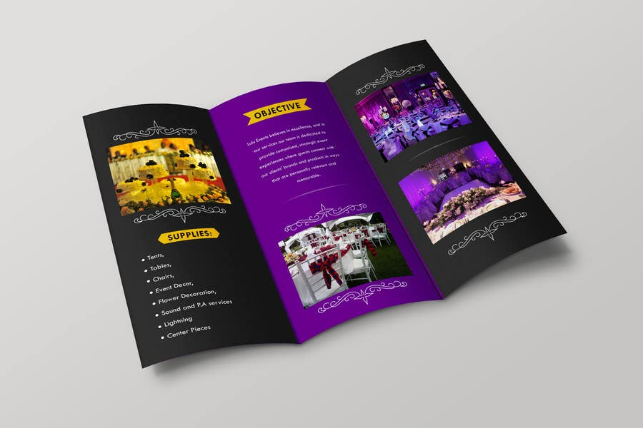 Entry By Designershub For Design A SIMPLE Brochure TEMPLATE - Simple brochure template