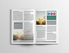design a simple brochure template 6 facing pages cover freelancer