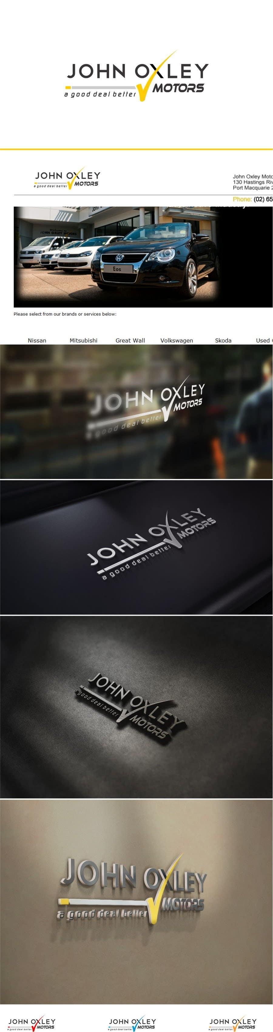 #224 for Design a Logo for John Oxley Motors by timedsgn
