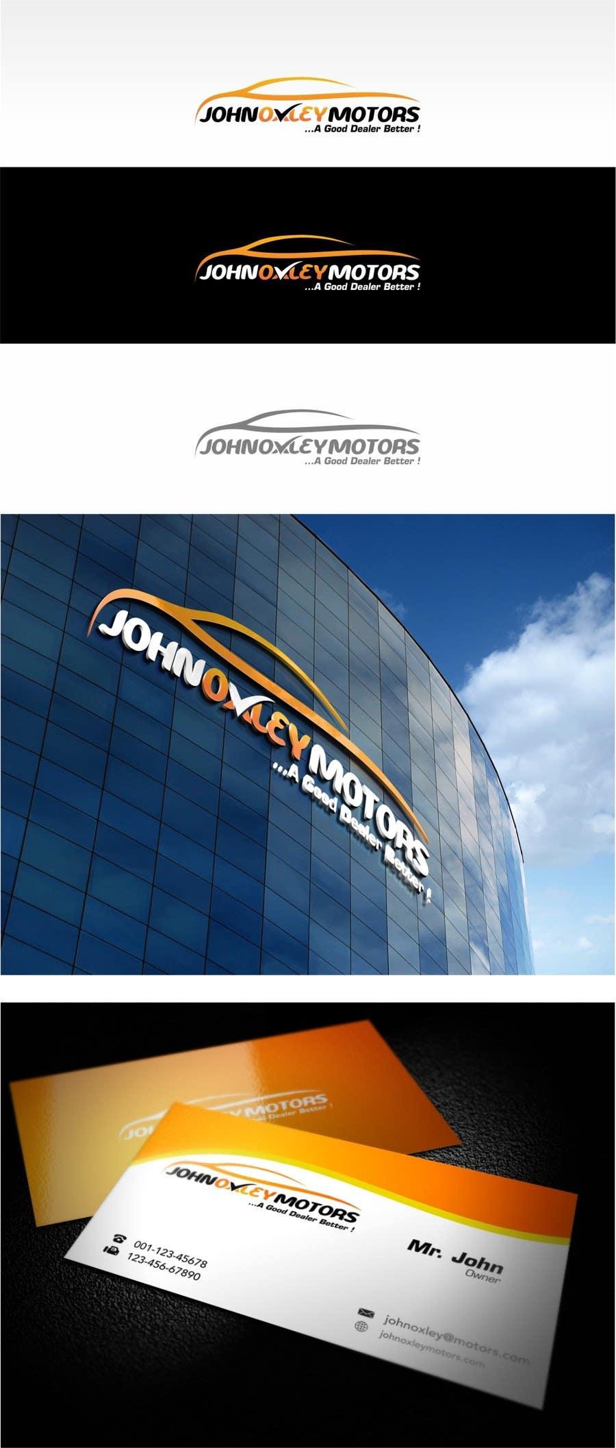 #237 for Design a Logo for John Oxley Motors by jummachangezi