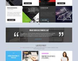 sunskilltechs tarafından Design a Website Mockup için no 2