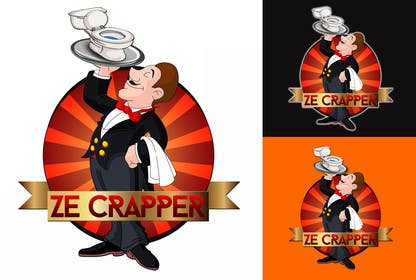 HDiangca tarafından Design a Logo for Ze Crapper için no 23