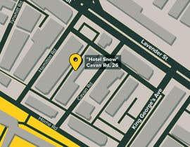 #21 untuk Draw a location map of my hotel for printing oleh alekchapel