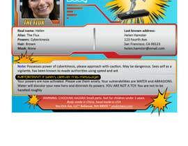 #4 untuk Superhero character sheet oleh Cube88