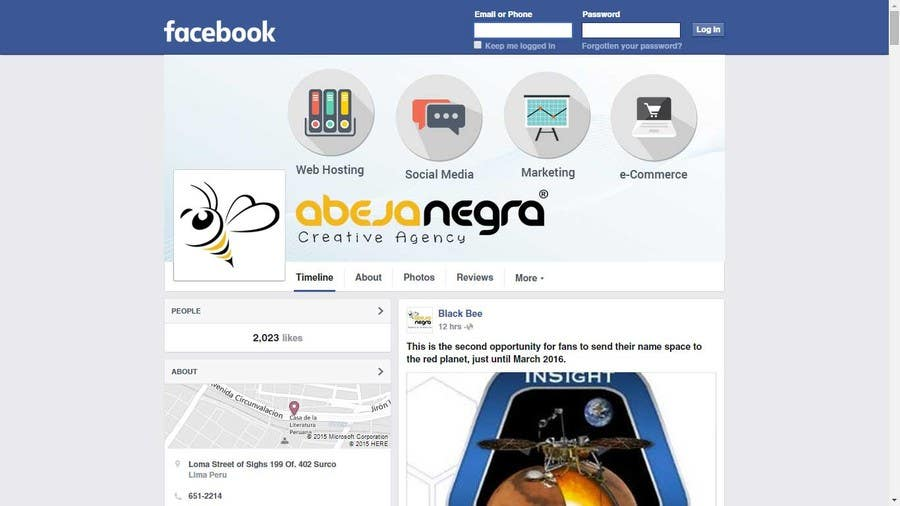 Entry #23 by arman0464 for Design our cover photo and