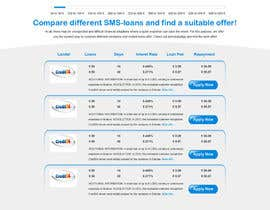 #8 para Create a Layout/Design for PayDay Loan Comparison Website por gravitygraphics7