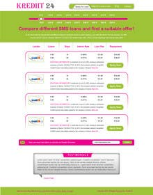 #13 for Create a Layout/Design for PayDay Loan Comparison Website by gravitygraphics7