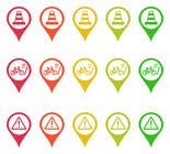 Graphic Design Entri Peraduan #23 for Design some safety icons for a map on our website