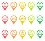 Graphic Design Entri Peraduan #30 for Design some safety icons for a map on our website