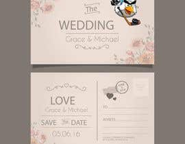 #8 untuk RETRO WEDDING DESIGN TEMPLATE oleh hackerforever661