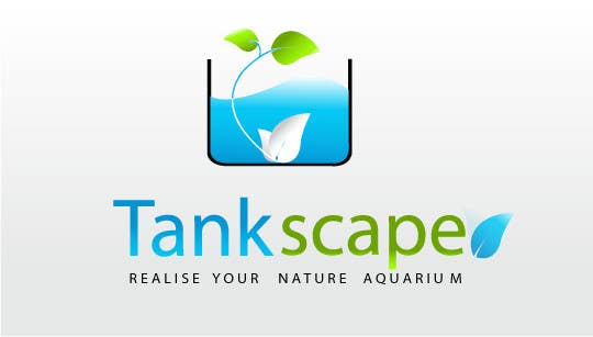 #66 for Logo design for Tankscape (Nature Aquarium Store) by sorowarems