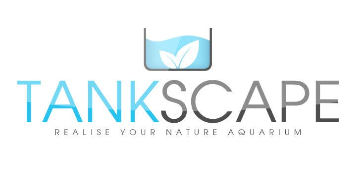#62 for Logo design for Tankscape (Nature Aquarium Store) by SheryVejdani